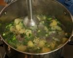Картофена супа с билки 4