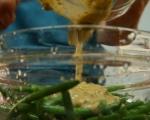 Салата с резене и зелен фасул 3
