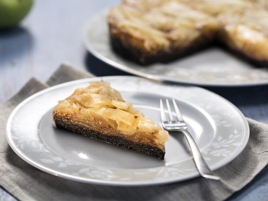 Постен ябълков тарт