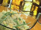 Лятна зеленчукова салата с булгур