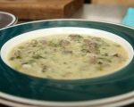 """Гръцка великденска супа """"Магерица""""  7"""