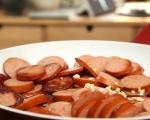 Пай с наденица и картофено пюре 2