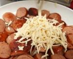 Пай с наденица и картофено пюре 3