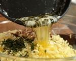 Пай с наденица и картофено пюре 9