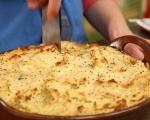Пай с наденица и картофено пюре 12