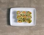 Рулца с риба тон и зеленчуци 6