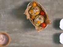 Пикантен картофен джоб с риба тон