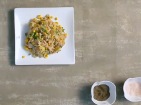 Картофи с риба тон и сладка царевица