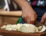 Фритата с резене и козе сирене 3