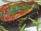 Патладжанен сандвич с кашкавал