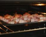 Пилешки дробчета в бекон на клечка 5