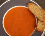 Доматена супа със солени бишкоти 12