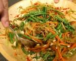 Намачкана салата с моркови и краставици 6