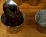 Десерт с какао и банани 7