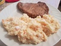 Пюре от картофи и моркови със сирене ...