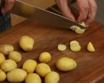 Картофена салата с репички и целина 2