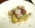Картофена салата с репички и целина 7
