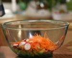 Пилешка салата с краставици 6