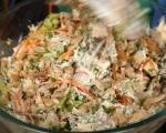 Пилешка салата с краставици 8