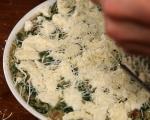Спанак с ориз на фурна 10