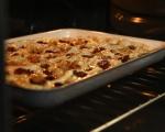 Фокача с печен чесън и маслини 9