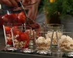 Итънска бъркотия с компот от ягоди и ябълки 11