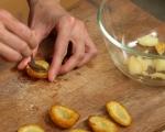 Картофи с пармезан и каперси на фурна 4