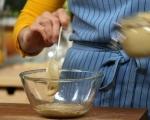 Салата от зелен фасул с таханов сос 3