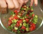 Лятна салата с халуми 4