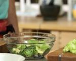 Салата от краставици с авокадо и мента 3