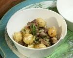 Картофена салата с телешки език 7