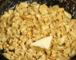 Доматена салата с яйчен сос 3
