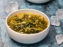 Корейска студена супа с краставици