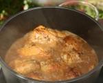 Пържено пиле с чесън (Челамичка по родопски) 2