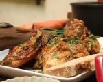 Пържено пиле с чесън (Челамичка по родопски) 5