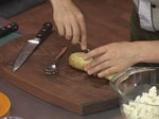 Пълнени картофи със сирене на микровълнова фурна 3
