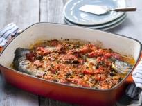 Пъстърва в доматен сос по провансалски