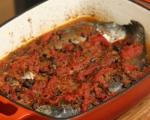 Пъстърва в доматен сос по провансалски 6