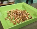 Печено бри с орехи и къпини