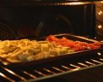 Спагети със сос от домати и патладжани 3