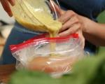 Гарнирана пита с пилешко и спанак 3