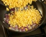 Топла салата с царевица 2
