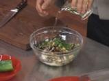 Пълнени зеленчуци с мандраджийска патладжанена салата 6