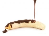 Бананови близалки с глазура