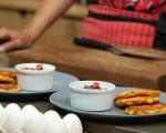 Царевични палачинки с доматена салца 7