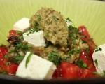 Салата от домати и патладжани с тапенада 7