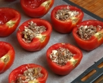 Пълнени домати с кайма 8