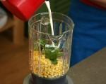 Студена супа от царевица с босилек 2