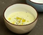 Студена супа от царевица с босилек 4