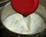 Скумрия на скара с пържен качамак
